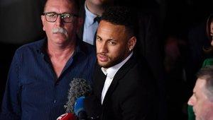 Neymar sigue en el proceso de defensa por las acusaciones por violación