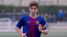 Nico González era el capitán del Cadete A del Barça