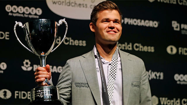 El noruego Carlsen se proclama campeón del mundo de ajedrez