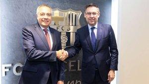 Pere Navarro y Josep Maria Bartomeu