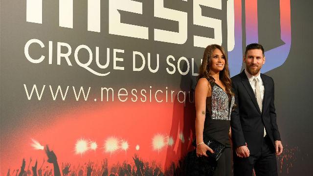 Pinto, Messi y Suárez, presentes en la fiesta del Cirque du Soleil
