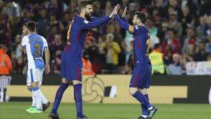 Piqué ficha en el entorno de Messi