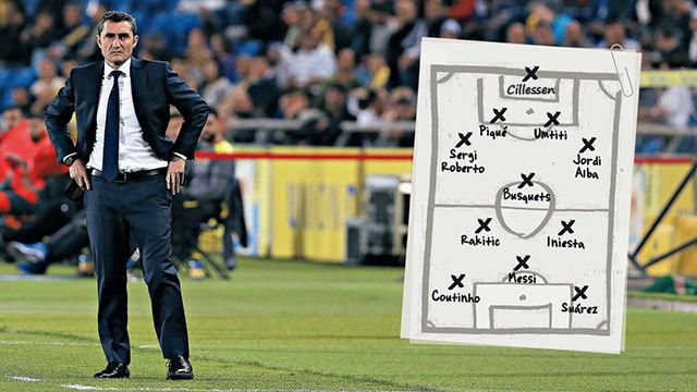 La posible alineación del FC Barcelona en la final de Copa
