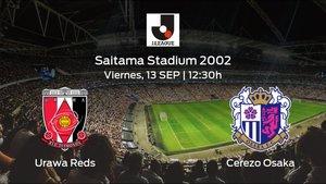 Previa del partido: el Urawa Reds recibe en su feudo al Cerezo Osaka