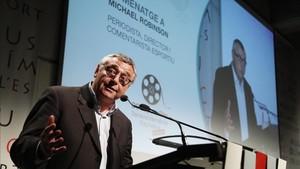 Reconocimiento del BCN Sports Film Festival 2018 a Michael Robinson