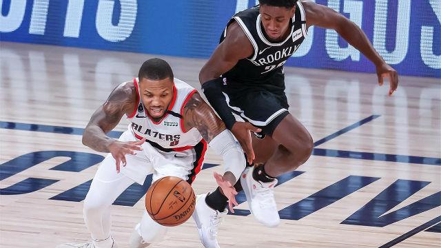 Resumen del Brooklyn Nets - Portland Trail Blazers (133-134)