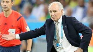 Sabella estuvo al frente de la selección argentina en el Mundial de Brasil