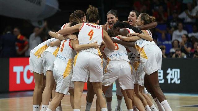 La selección española de basket femenino, bronce en el Mundial