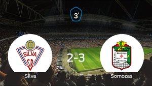 El Somozas se impone al Silva SD y consigue los tres puntos (2-3)