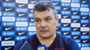 El técnico azulgrana destacó la fortaleza de su equipo