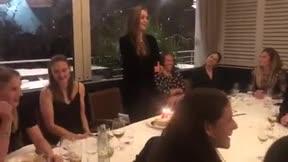 El tierno discurso de Lieke Martens en español cruyffista por su cumpleaños