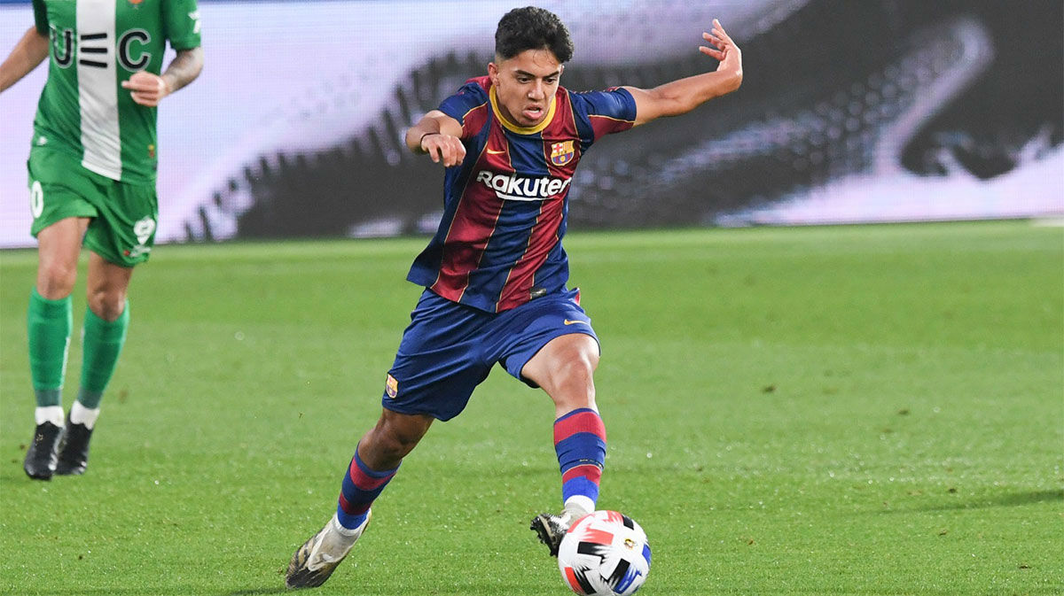 Todo lo que debes saber de Ilias Akhomach, la perla del juvenil del Barça