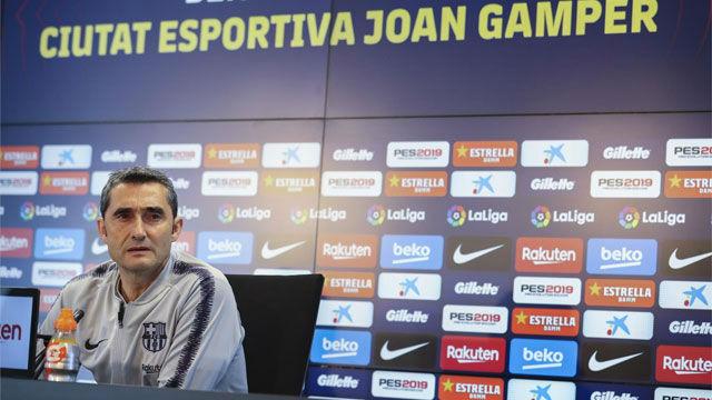Valverde no se fía del Espanyol