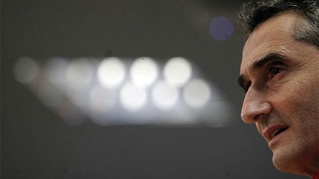Valverde no piensa arriesgar con Dembélé