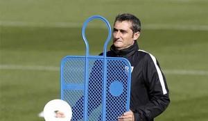 Valverde ha preparado el partido ante el Atlético