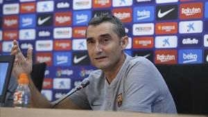 A Valverde le volvieron a preguntar por el Girona-Barcelona