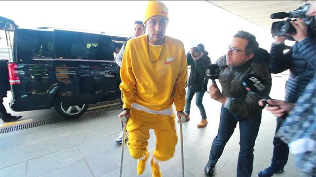VÍDEO SPORT: Neymar explota en Barcelona: No me toquéis los cojones