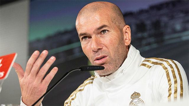 Zidane: Contamos con que se va a jugar el Barça-Madrid