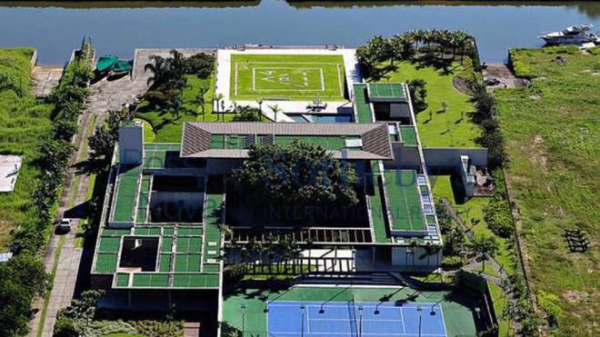 Así es la espectacular casa de Neymar en Mangaratiba