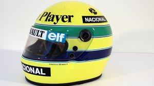 Casco de Ayrton Senna