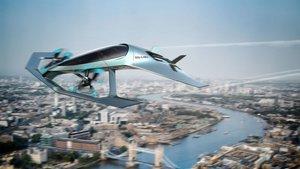 Prototipo de taxi volador de Aston Martin.