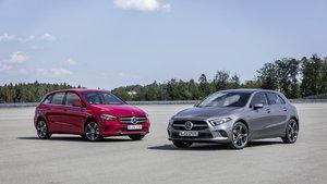 Los pequeños de Mercedes-Benz reciben versiones híbridas enchufables.