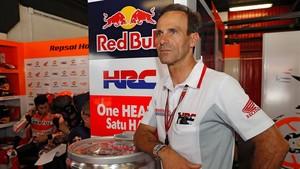 Alberto Puig, director deportivo del equipo Repsol Honda