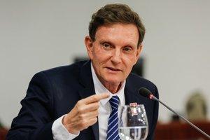El alcalde de Río de Janeiro, Marcelo Crivella
