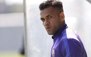 Alves deja un completo palmarés tras su etapa en el Barcelona