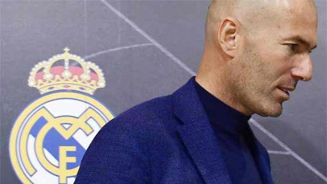 Así recibió la plantilla del Real Madrid la noticia de la vuelta de Zidane