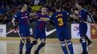 El Barça quiere celebrar muchos goles en la pista del Follonica