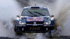 El campeón WRC, Ogier, en acción