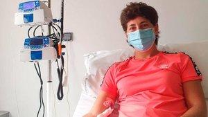 Carla Suárez ha iniciado el tratamiento contra el cáncer que padece