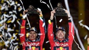 Carlos Sainz ha cambiado WRC por el Dakar