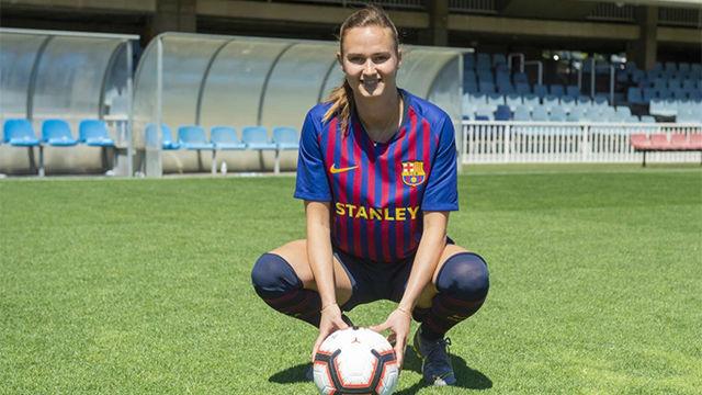 Caroline Graham ficha por el Barça y ya se viste de azulgrana