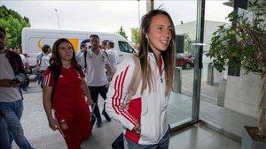 La centrocampista vuelve a la liga española, competición que ha ganado con el Barça en tres ocasiones