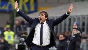 Conte, entrenador del Inter