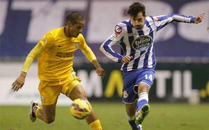 Cuenca, en una imagen de su paso por el Deportivo