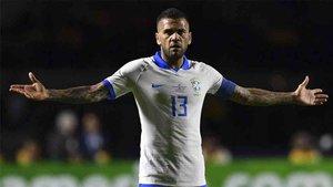 Dani Alves no olvida su paso por el Barcelona