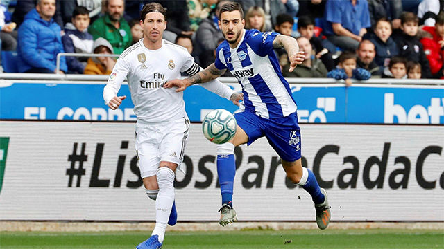 La defensa del Madrid da la victoria al conjunto blanco en Mendizorroza