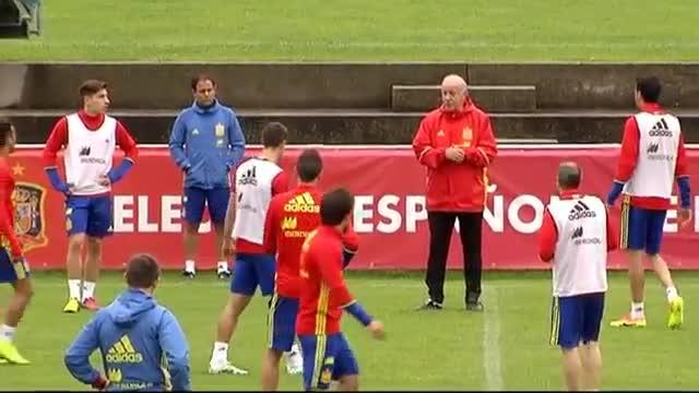 Del Bosque dará a conocer hoy la lista definitiva para la Eurocopa