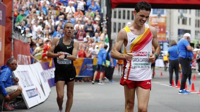 Diego García, ganador de la Challenge Mundial de marcha