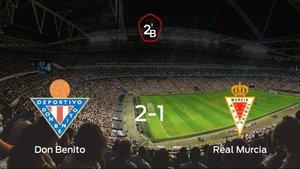 El Don Benito se hace fuerte en casa y derrota al Real Murcia