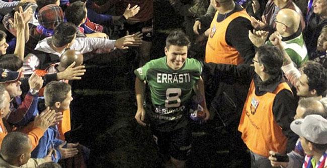 El Eibar, a Primera por primera vez en su historia