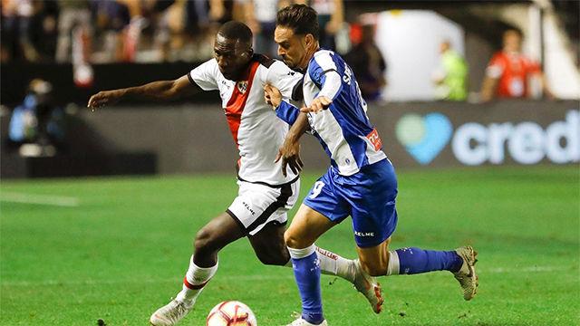 El Espanyol consigue un punto en Vallecas en un partido intenso e igualado