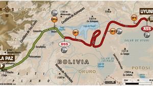 Este es el recorrido de la séptima etapa del Dakar 2018