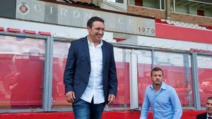 Eusebio planifica la pretemporada del Girona
