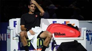 Federer no pudo pasar a la final de Maestros
