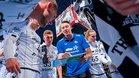 Filip Jicha alecciona a sus jugadores en un tiempo muerto