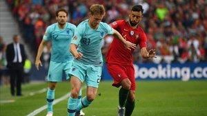 Frenkie de Jong puso fin a la temporada ante Portugal, en la final de la UEFA Nations League